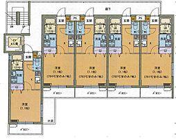 ファルステーロマンション[4階]の間取り