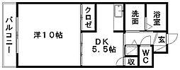 セントラルヒルズ[B502号室]の間取り