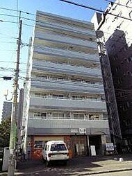 北海道札幌市西区琴似一条6丁目の賃貸マンションの外観