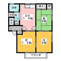 パークリバー[2階]の間取り