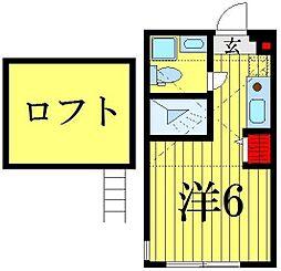 (仮称)高砂7丁目コーポ[1階]の間取り