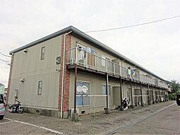 群馬県高崎市高関町の賃貸アパートの外観