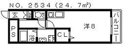 アキュラメゾン[2階]の間取り