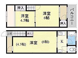 西田辺駅 6.0万円