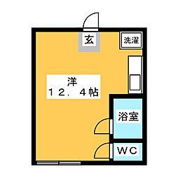 パークビル117[2階]の間取り