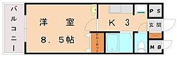 さくらマンション[4階]の間取り