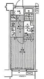 スパシエカステール横浜吉野町[3階]の間取り