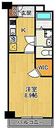 N.Cube[3階]の間取り