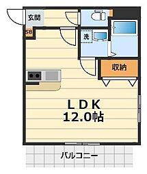 エンブレム5251[2階]の間取り