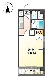 第2アイオ−キャッスル[2階]の間取り