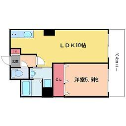 ノルデンタワー新大阪プレミアム[21階]の間取り