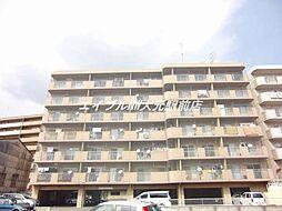岡山県岡山市南区豊成3の賃貸マンションの外観