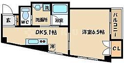 グランドールハタダビルディング2[4階]の間取り