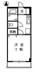 メイプルタウン高田[1階]の間取り