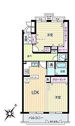 上大岡ガーデンハウスA棟[4階]の間取り