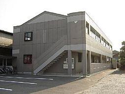 愛知県一宮市光明寺字本堕落の賃貸アパートの外観