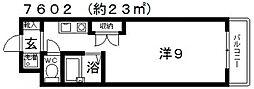 レーベンス・ラウム25[302号室号室]の間取り