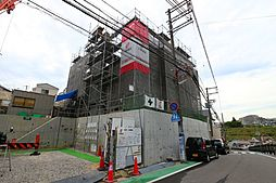 兵庫県神戸市垂水区旭が丘3丁目の賃貸アパートの外観