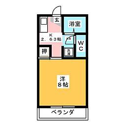 ピア113[1階]の間取り
