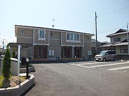 愛媛県松山市市坪北1丁目の賃貸アパートの外観