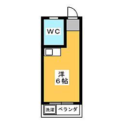 フォレスト伊勝町[2階]の間取り