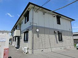 愛知県あま市新居屋清明の賃貸アパートの外観