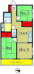 タケイマンション[3階]の間取り