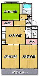 宮崎台レジデンス[504号室号室]の間取り
