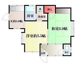 [一戸建] 神奈川県横須賀市佐野町1丁目 の賃貸【/】の間取り