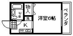 グランド藤井[102号室]の間取り