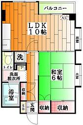 東京都豊島区南長崎2丁目の賃貸マンションの間取り
