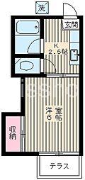 3425-都立家政ハイム[1階]の間取り