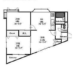 S-1ビル[2階]の間取り