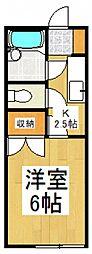シティーハイツ ヤマト[1階]の間取り
