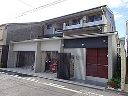 京都府京都市中京区二条新町の賃貸マンションの外観