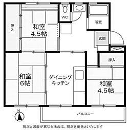 【敷金礼金0円!】金杉台住宅
