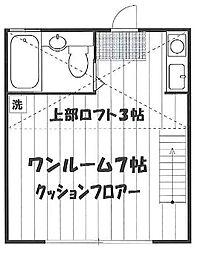 ハイツ江古田A棟[203号室]の間取り