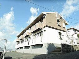 福岡県北九州市小倉北区黒原2丁目の賃貸アパートの外観