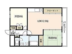 田川ビル[5階]の間取り