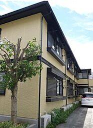 東京都新宿区下落合2丁目の賃貸アパートの外観