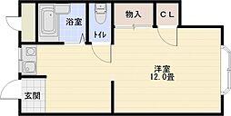 杉本ビルマンション[3階]の間取り