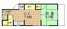 [一戸建] 福岡県福岡市城南区田島5丁目 の賃貸【/】の間取り