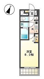 仮)プレサンス大曽根駅前ファースト[13階]の間取り