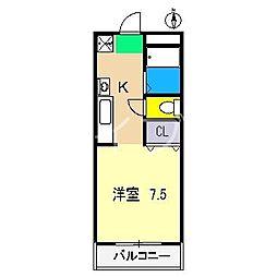 フィットハイム比島[2階]の間取り