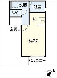 ウィルモア青山[2階]の間取り