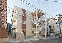 神奈川県川崎市川崎区池上新町2丁目の賃貸アパートの外観