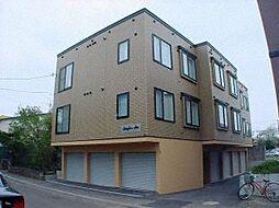 北海道札幌市東区北十三条東16丁目の賃貸アパートの外観