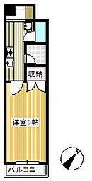 メゾン・ド・宇田川第一[402号室]の間取り