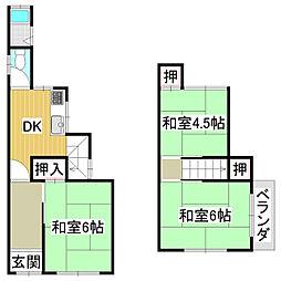 京阪京津線 四宮駅 徒歩13分