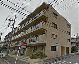 神奈川県川崎市中原区下新城1丁目の賃貸マンションの外観